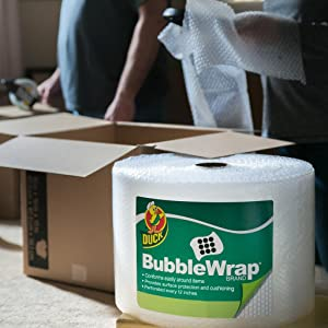 Duck Brand Bubble Wrap Original Cushioning