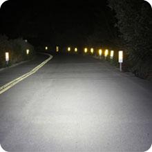 powerful night visible bike light