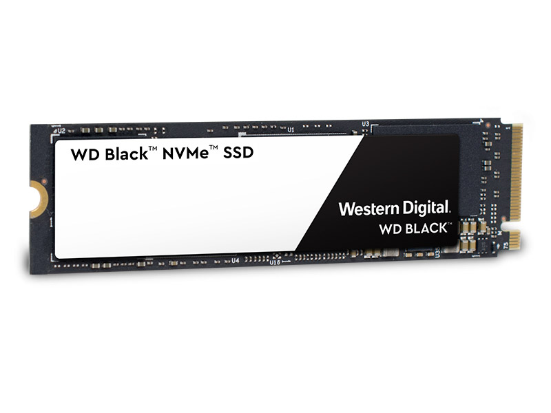 WD Black NVMe SSD main