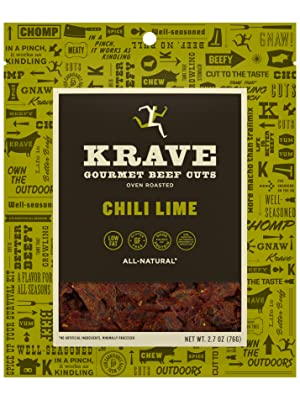 KRAVE Chili Lime Gourmet Beef Cuts
