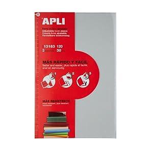 APLI 16915 - Forro de libros con solapa ajustable PP 295
