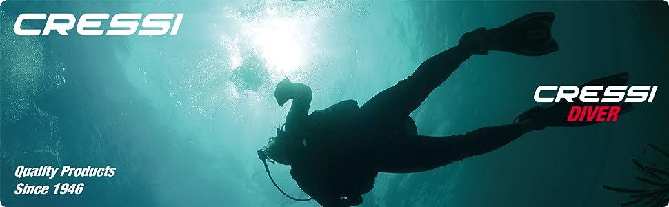 Cressi Diver Traje de Buceo, Mujer