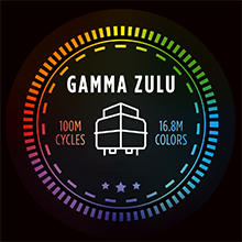 Advanced Mechanical Gamma Zulu Switch, 100 Million Actuations, Faster, Brighter RGB