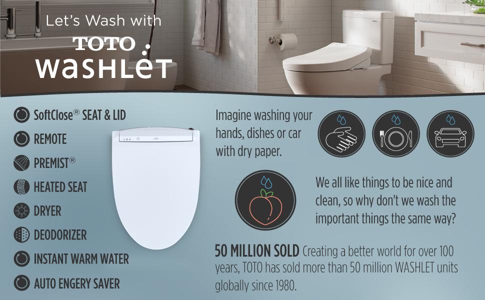 Let's Wash With WASHLET