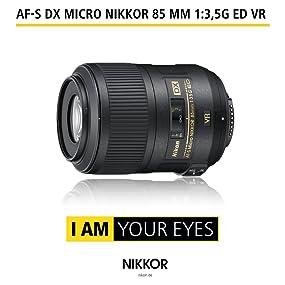 AF-S DX Micro NIKKOR 85 mm 1:3,5G ED VR