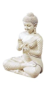 Deco 79 75317 Polystone Buddha Home Decor Product