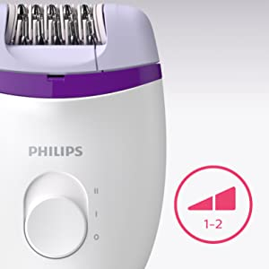 Philips BRE225/00 Satinelle Essential Corded Compact Epilator 7