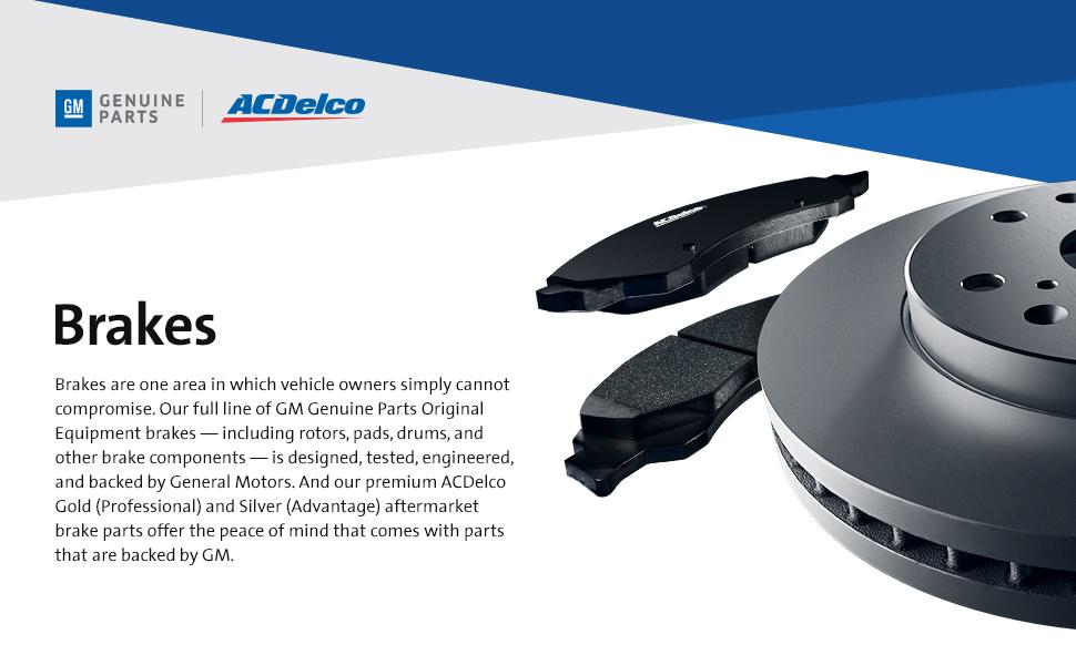 GM Genuine Parts ACDelco Brakes