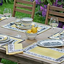 Villeroy and Boch Auden placemats and napkins