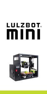 lulzbot mini, 3d printer, lulzbot, mini