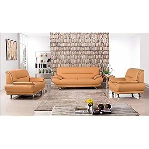 Amazon.com: American Eagle Furniture 3 Piece Arcadia Collection ...