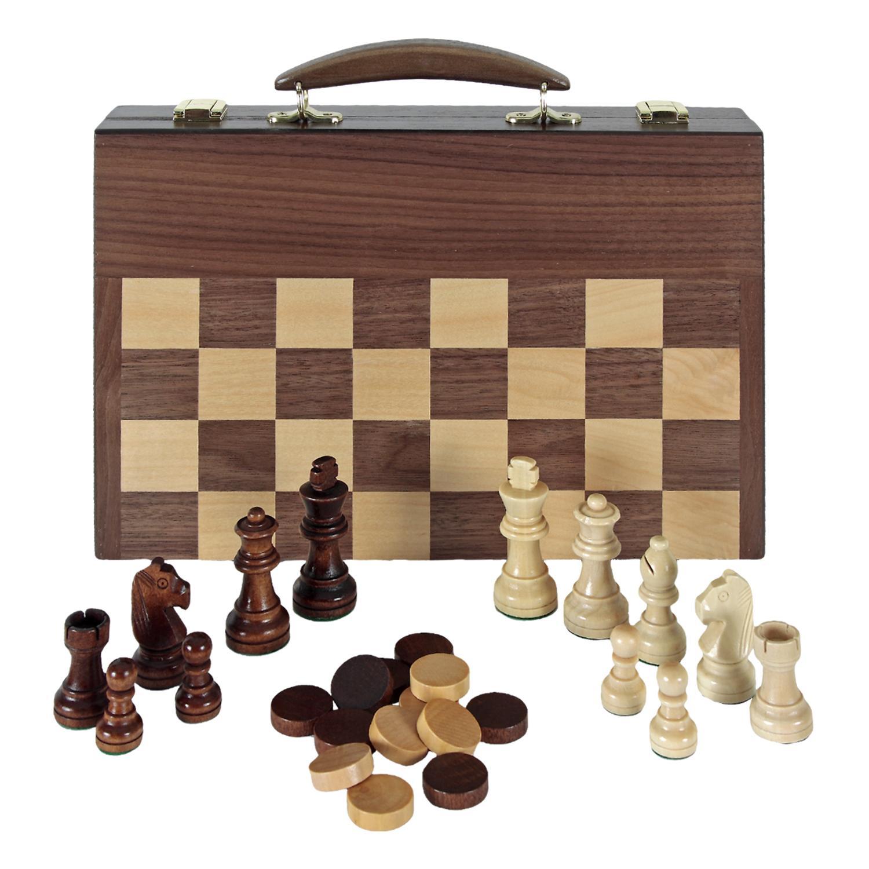 Aquamarine Games Ajedrez, Damas y Backgammon en maletin (Compudid ...