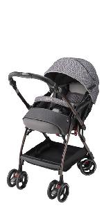 オプティア プレミアム 高級 重厚 機能 軽い 押しやすい スタイリッシュ 人気 押しやすい 4キャス 4キャス 4輪 赤ちゃん