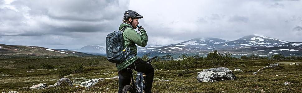 bike hydration, hydration backpack, biking backpack, hiking backpack, 18L bag, water carrier, bike