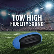 10W High Fidelity Sound