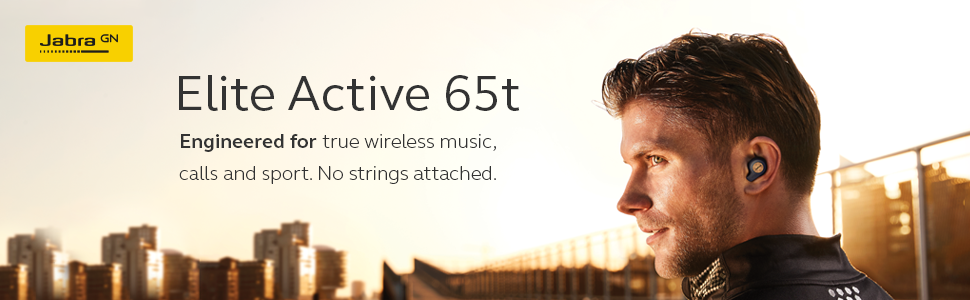 Jabra Elite Active 65t is engineered for true wireless music, calls and sport.