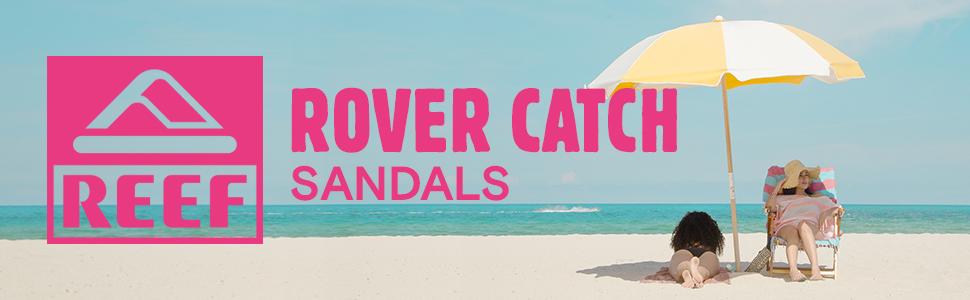 3fa3dc1cbe88 REEF ROVER CATCH POP WOMENS SANDALS BEACH FREELY