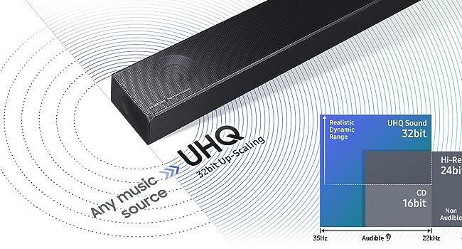 Samsung HW-N850 Soundbar with Dolby Atmos | Product US Amazon