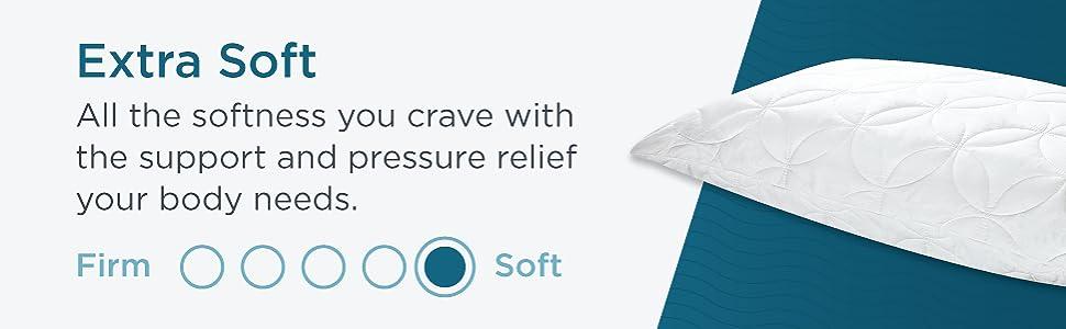 Tempur Cloud Soft Conforming Pillow Queen