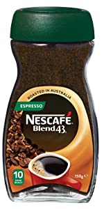Nescafe,blend 43,coffee,australian made,soluble,coffee