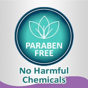 Free of Parabens -