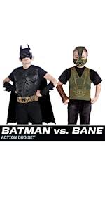Batman Vs Bane Costume Duo Set