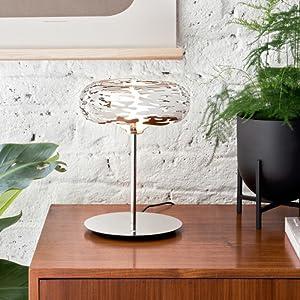 Alessi Barklamp Bm11 Design Led Tishlampe Mit Durchgebrochener Verzierung 18 10 Edelstahl Poliert Amazon De Garten