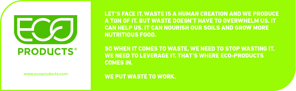 Eco-Products - We put waste to work