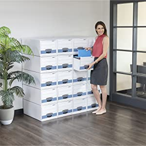 bankers box, box, boxes, storage box, storage boxes, moving box, moving boxes, storage