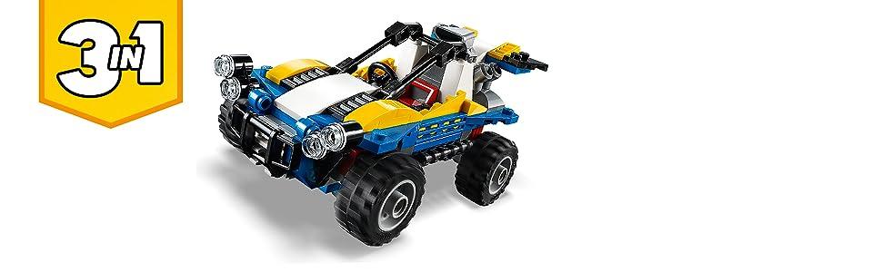 Brick Toy LEGO® Creator New Toy Dune Buggy 31087