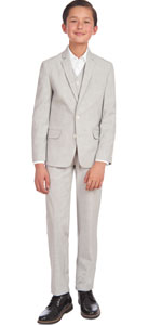ck suit set;traje formal 3 piezas; grey suit set; kids 3 piece set; stretch suit; boy evening wear