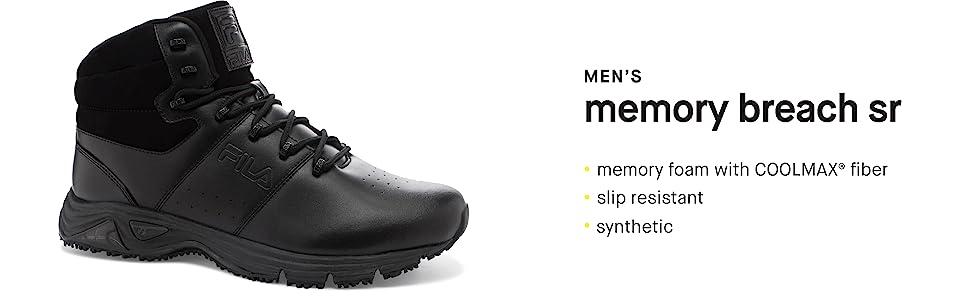 9c260c14 Fila Men's Memory Breach Slip Resistant Work Boot