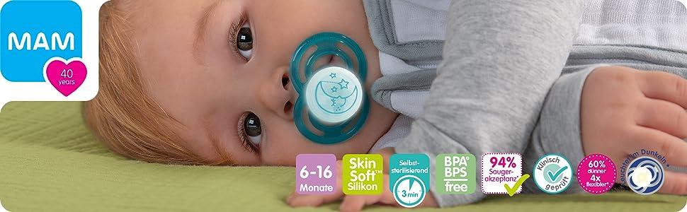 Chupete MAM Baby Chupete silicona