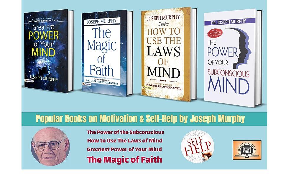Popular Books on Motivation & Self Help by Joseph Murphy