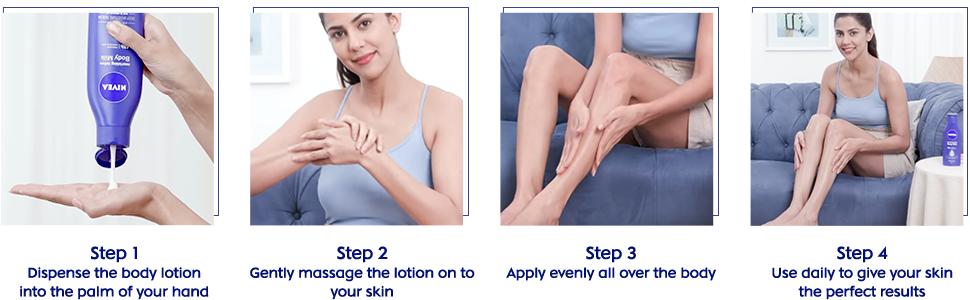body lotion, dry skin, body milk, creamy, milk, nivea