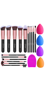 makeup brushes Blender Sponge set