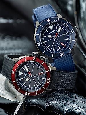 Alpina Seastrong Swiss Watch, Diver Watch, Smartwatch,