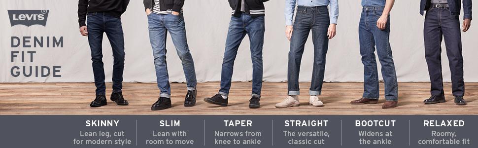9365aa62de2 Levi's Men's 512 Slim Taper Fit Jean at Amazon Men's Clothing store:
