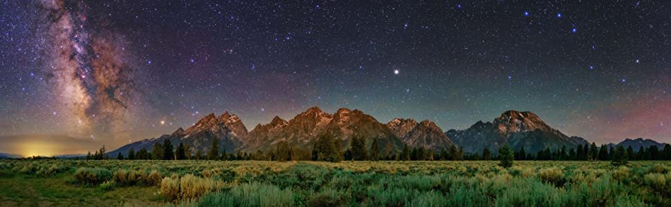 HORIZONS - Grand Teton Mountains, Wyoming USA