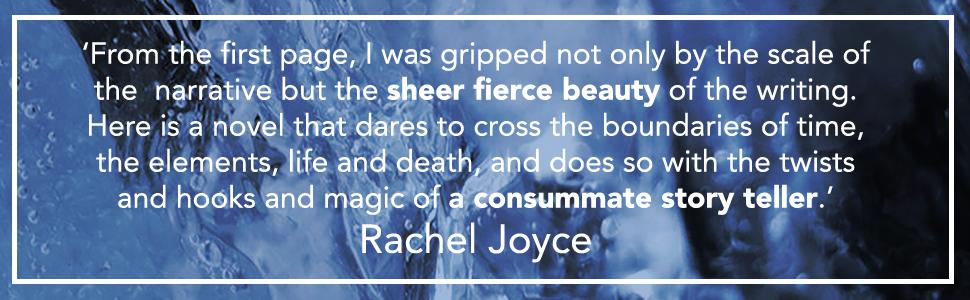 """""""A consummate story teller"""" Rachel Joyce"""