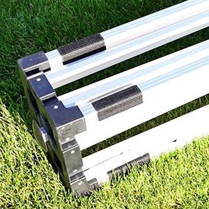 Alurohr Kunststofffüße leichtgängig platzsparend austauschbar geschraubt reparatur