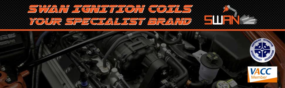 SWAN Ignition Coils Banner
