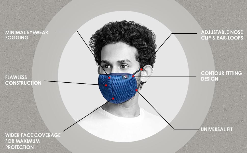 Priority Protective Mask 3 Black
