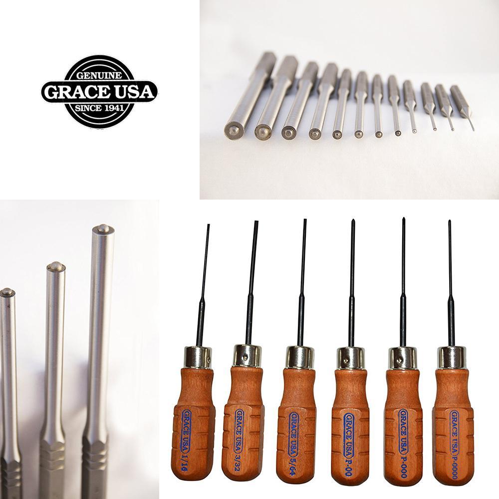 Grace USA - Original Gun Care Screwdriver Set - HG8 - Gunsmithing - Screwdrivers - 8 piece - Gunsmith Tools & Accessories