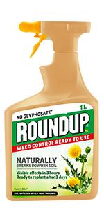 Roundup NL - Control de malas hierbas natural listo para usar