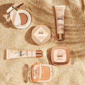 ombretto, cushion, fondotinta, liquido, glam beige, sole, mare, abbronzatura
