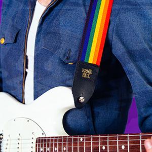 dunkelgrünNeu Ernie Ball EB4050 Gitarrengurt Polypro