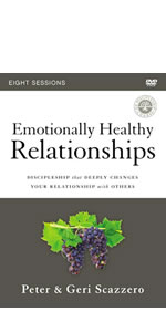 Emotionally Healthy Relationships, EHR video study, EHR DVD, Emotionally Healthy Spirituality