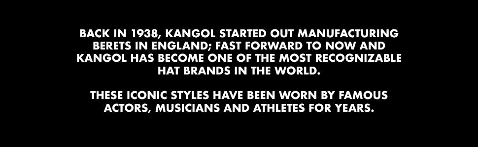 Kangol established 1938.