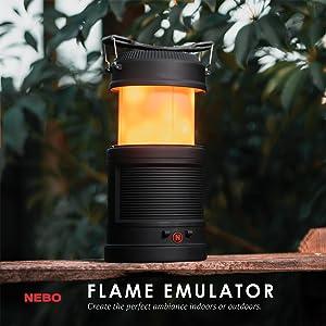 Flame Emulator Lantaarn